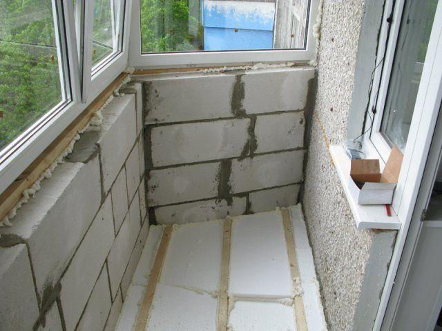 Как сделать балкон своими руками в квартире