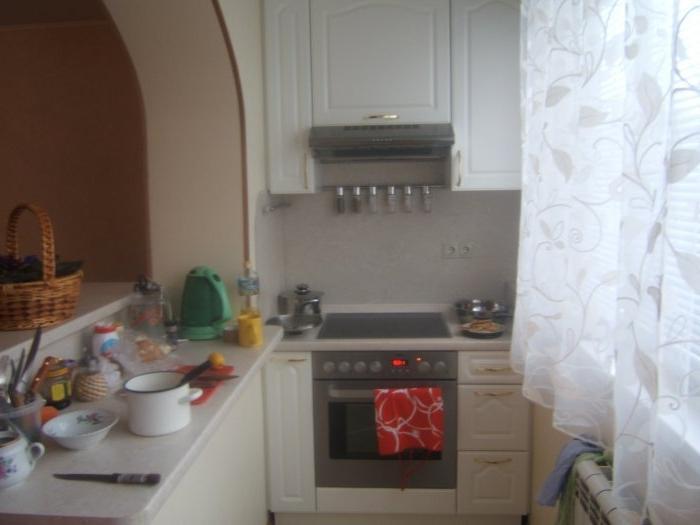 картинка кухня на балконе