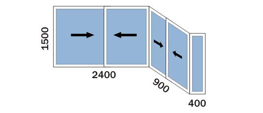 картинка схема окна балкона