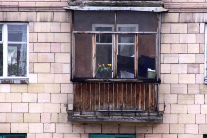 картинка аварийный балкон