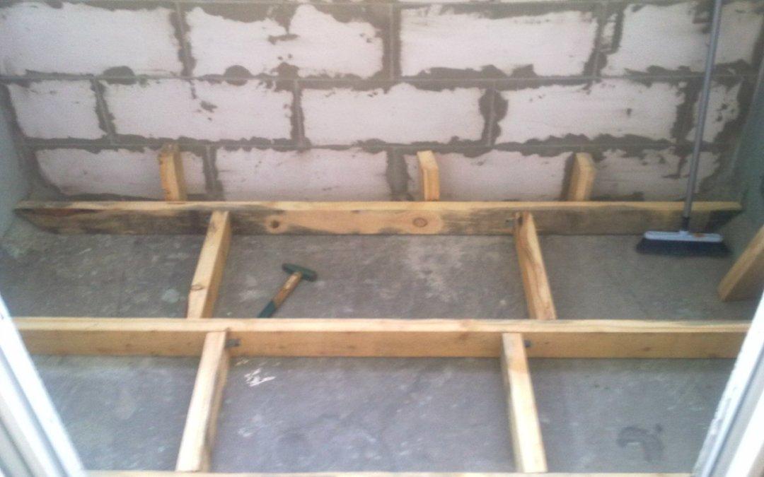 Обрешетка балкона своими руками