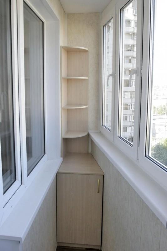 картинка полочки на балконе