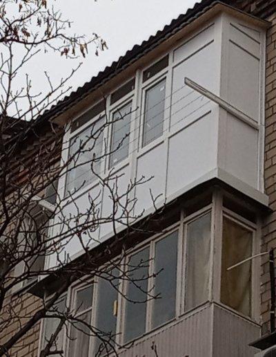 фото балкон Донецк ул Кирова д30 работа Окна Prof