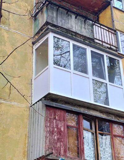 фото балкон Донецк ул Восточная 8 работа Окна Проф 001