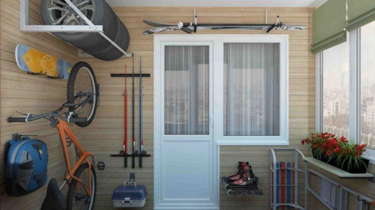 Система хранения на балконе: идеи и современные решения