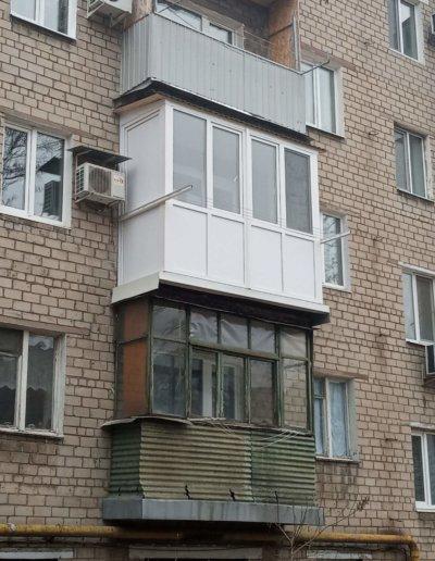 фото балкон работа Окна Prof Донецк ул Кирова