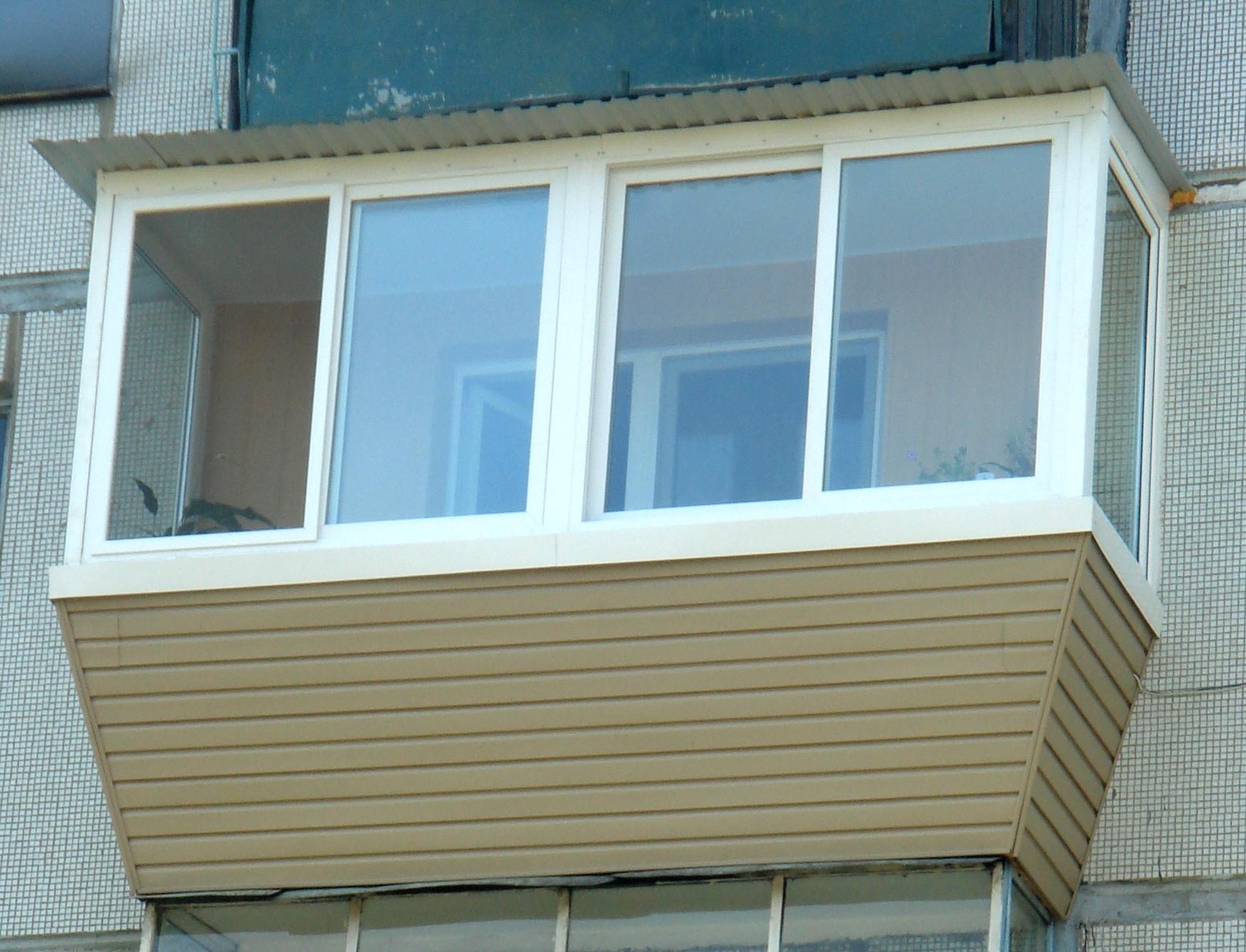 картинка балкон с выносом