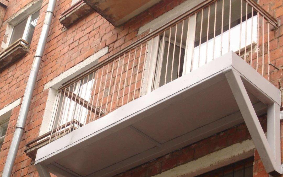 Нагрузка на балконную плиту в панельном доме