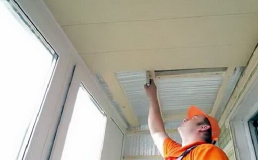 картинка гидроизоляция потолка