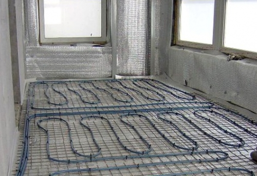 картинка кабельное электрическое отопление