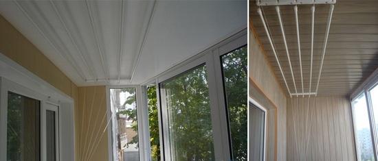 картинка сушилка на балконе