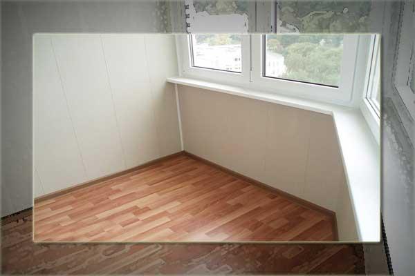 картинка линолеум на балконе