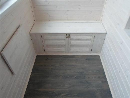 картинка скамья с дверцами
