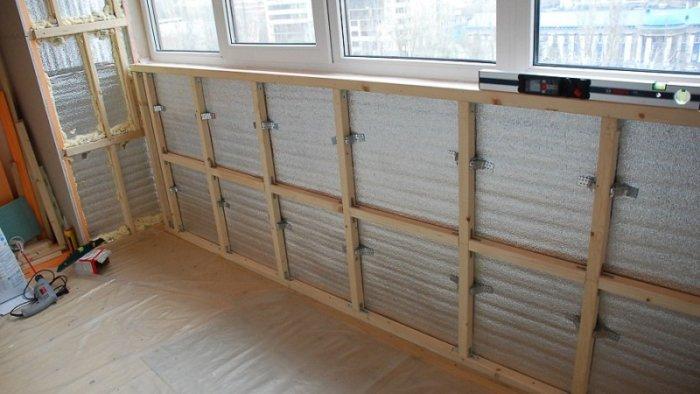 картинка утепление передней стены балкона