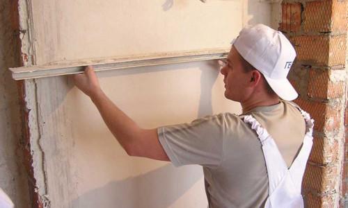 картинка выравнивание стен шпаклевкой