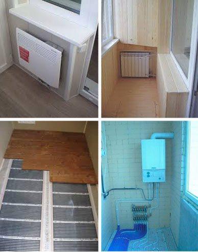 Отопление балкона и лоджии: какой из вариантов лучше