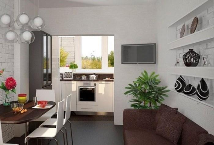 Кухня на балконе или лоджии: как сделать ее комфортной