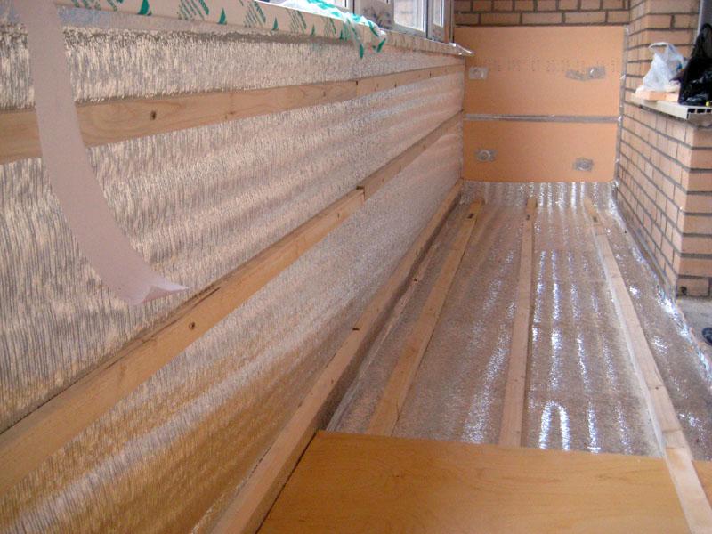 картинка теплоизоляция балкона