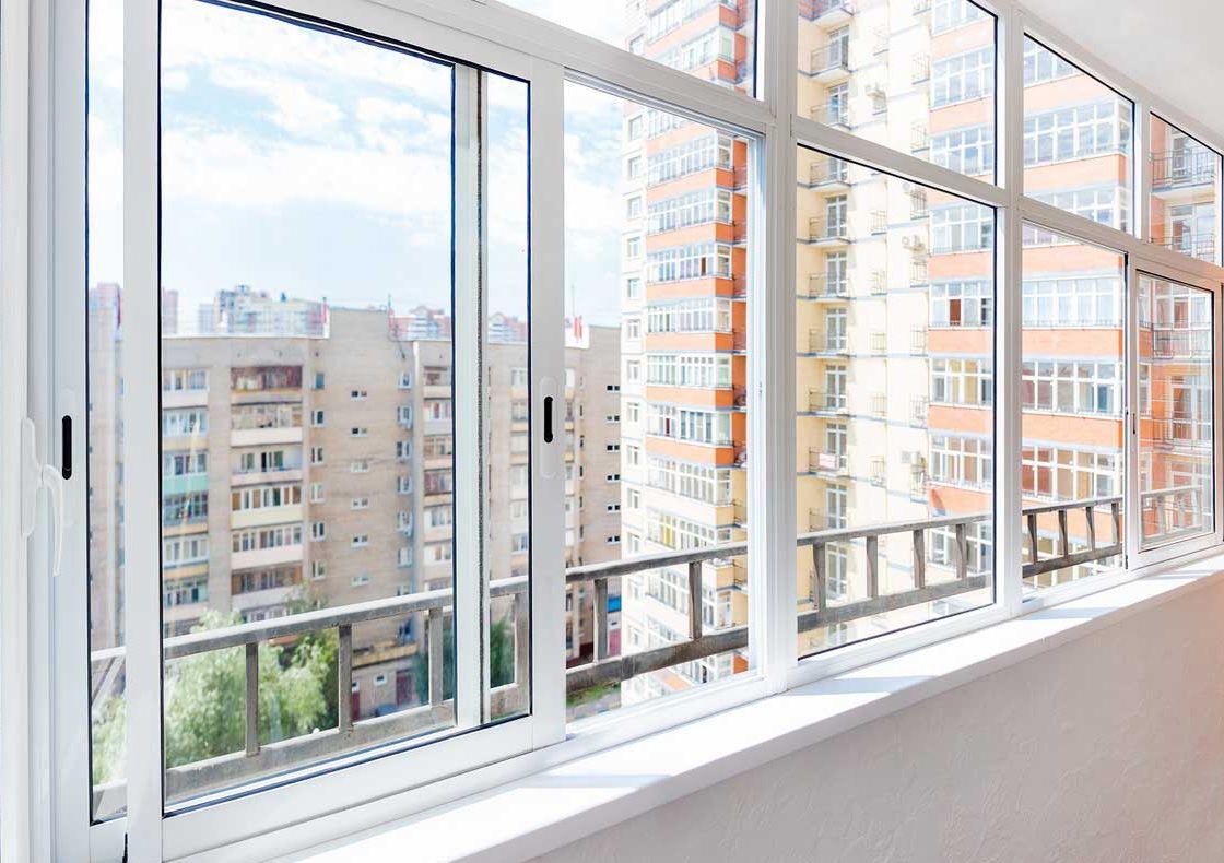 картинка алюминиевые раздвижные окна на лоджию