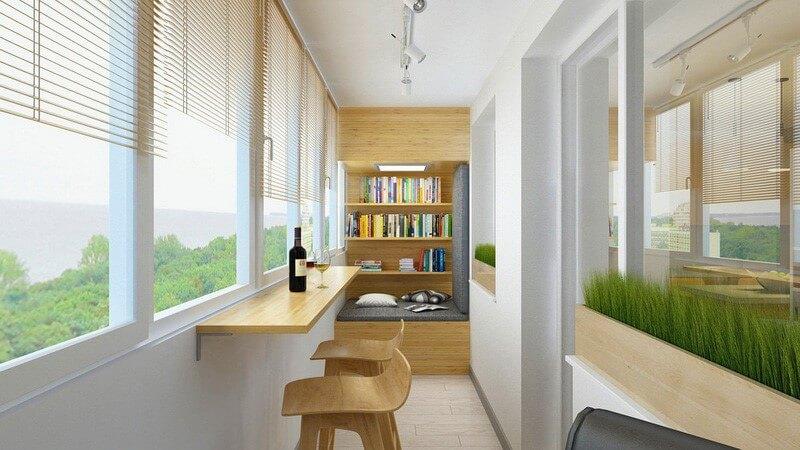 картинка балкон-бар