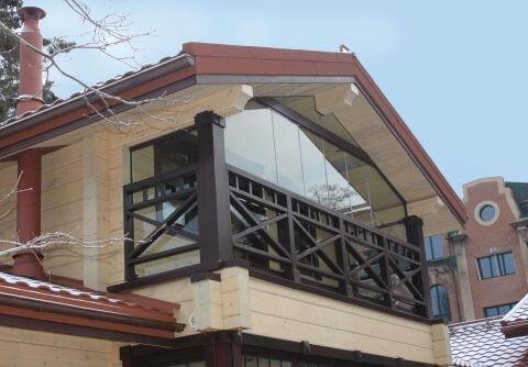 картинка закрытый балкон
