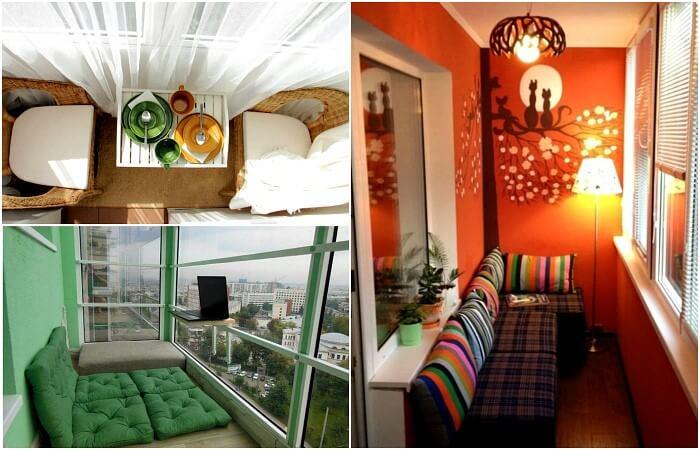 картинка дизайн балкона