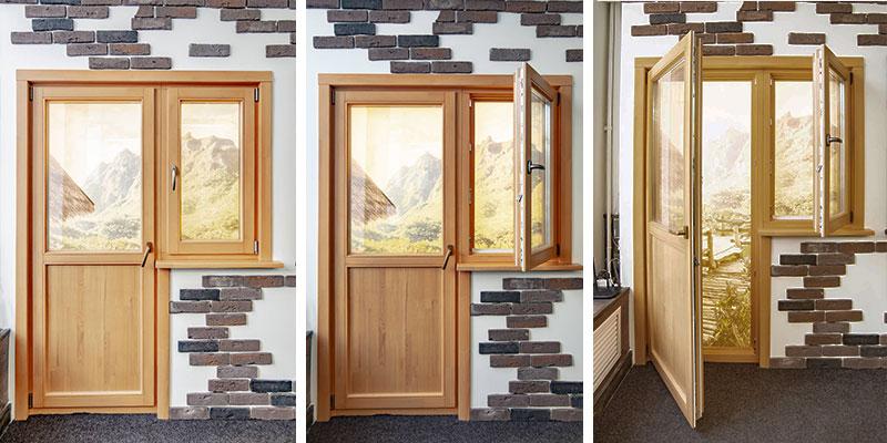 картинка деревянный балконный блок