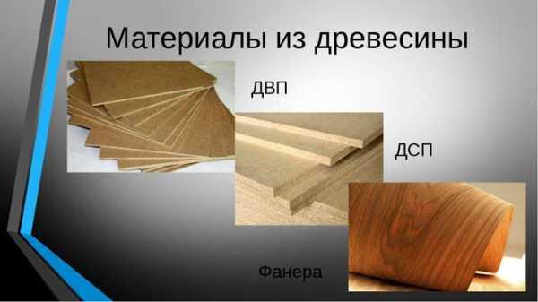 картинка материалы из древесины