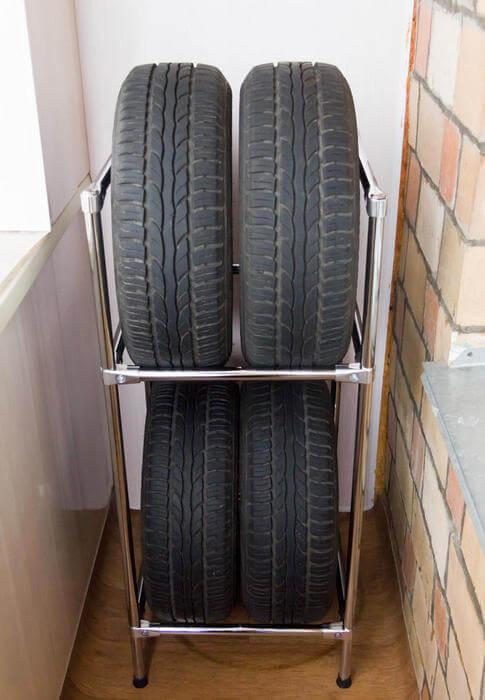 картинка стойка для хранения шин