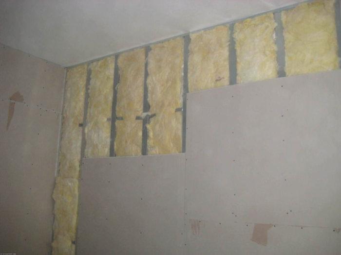 картинка монтаж гипсокартона на стену