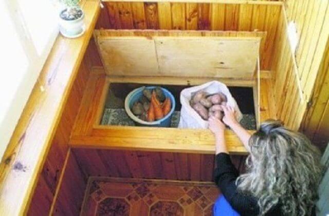 картинка погребок для овощей