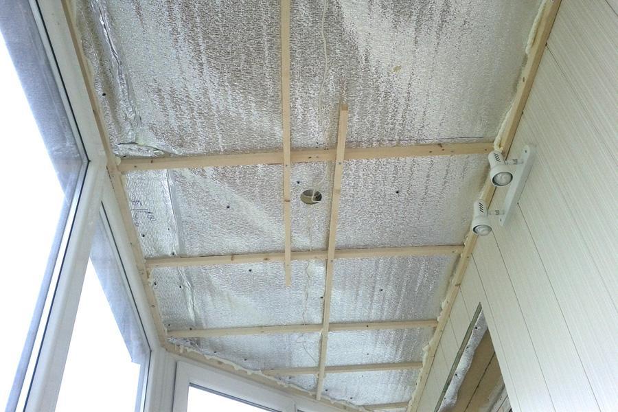 картинка утепление балкона внутри пеноплексом