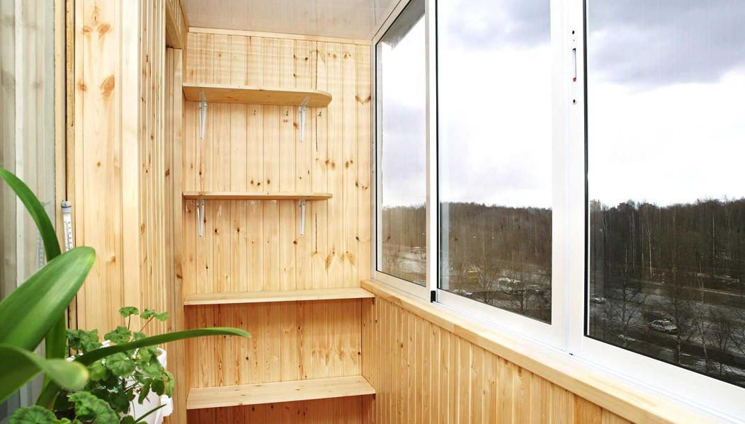 картинка стеллаж на балкон