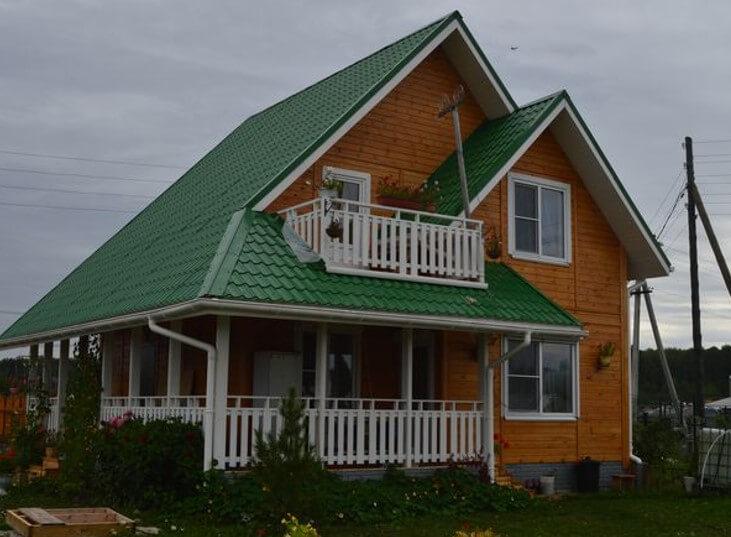 картинка балкон как часть крыши