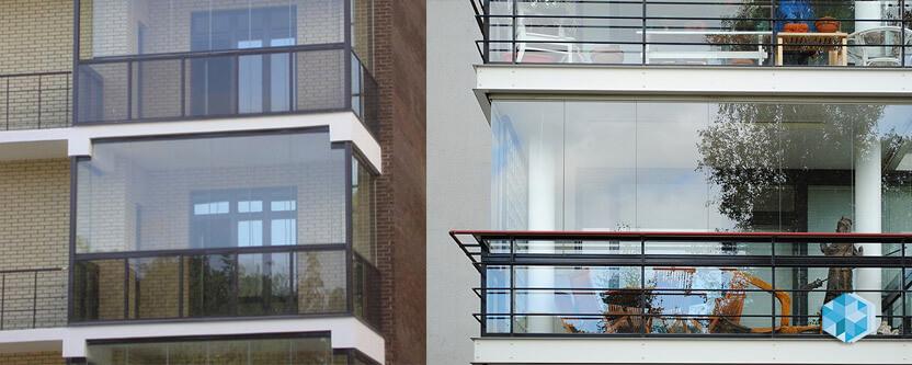 картинка стеклянный балкон