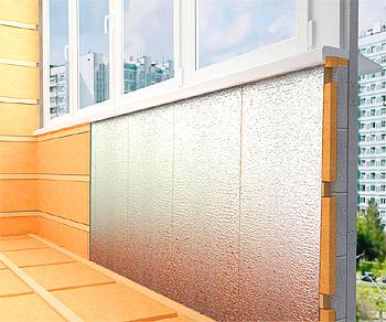 картинка утепление балкона