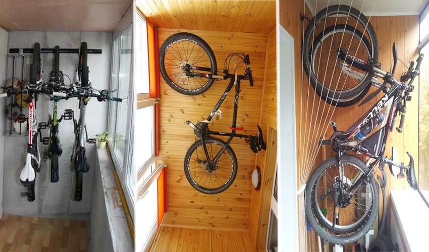 картинка велосипед на балконе