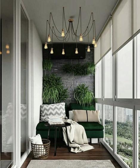 картинка уютный балкон
