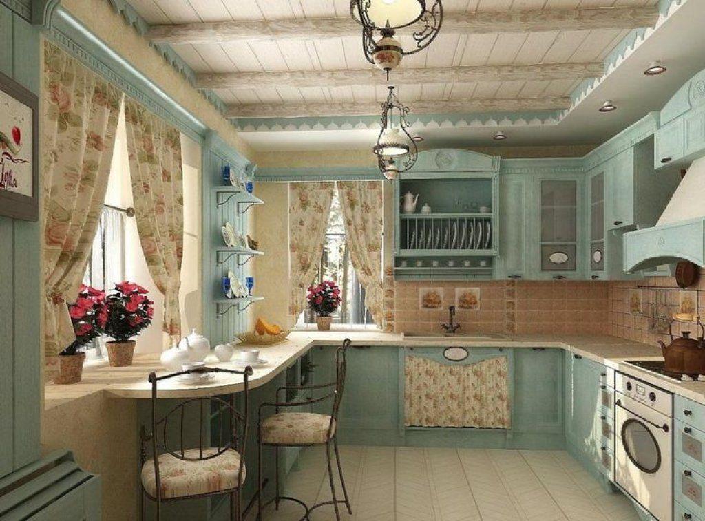 картинка дизайн кухни в стиле кантри