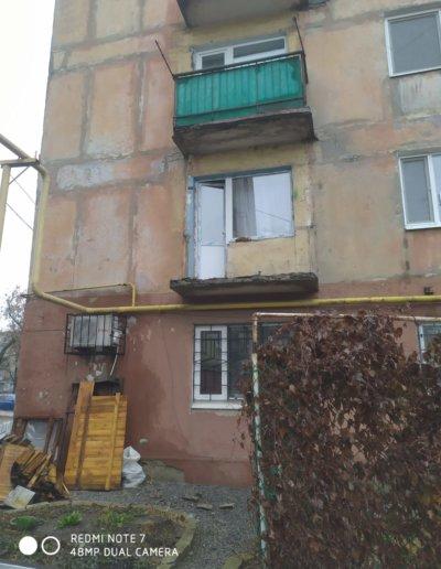 фото балкон с расширением Горловка работа Окна Проф 007