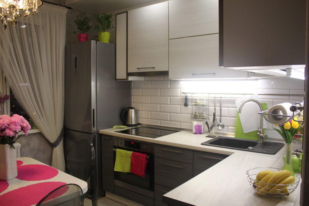 картинка Дизайн кухни 8 кв. м