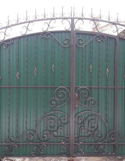 фото кованые ворота в Донецке 001