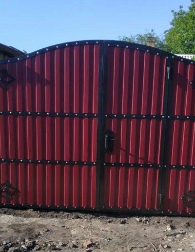 фото кованые ворота в Донецке 003