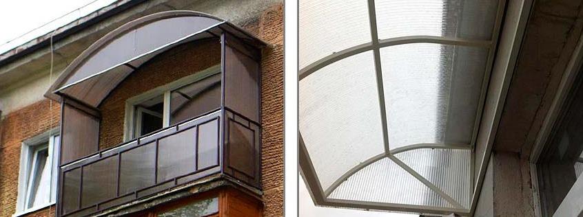 картинка балкон из поликарбоната