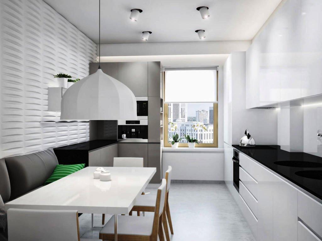 картинка дизайн кухни в стиле минимализм
