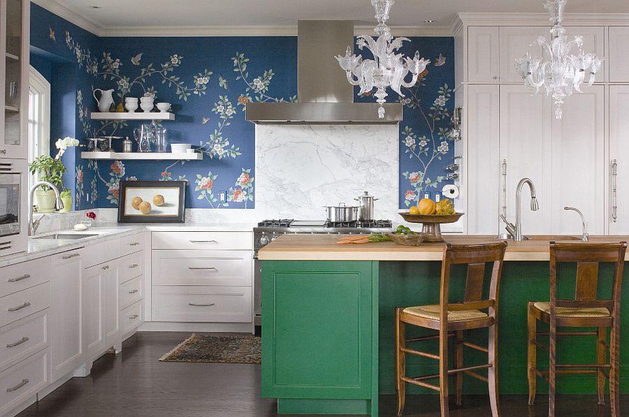 картинка дизайн кухни в стиле эклектика
