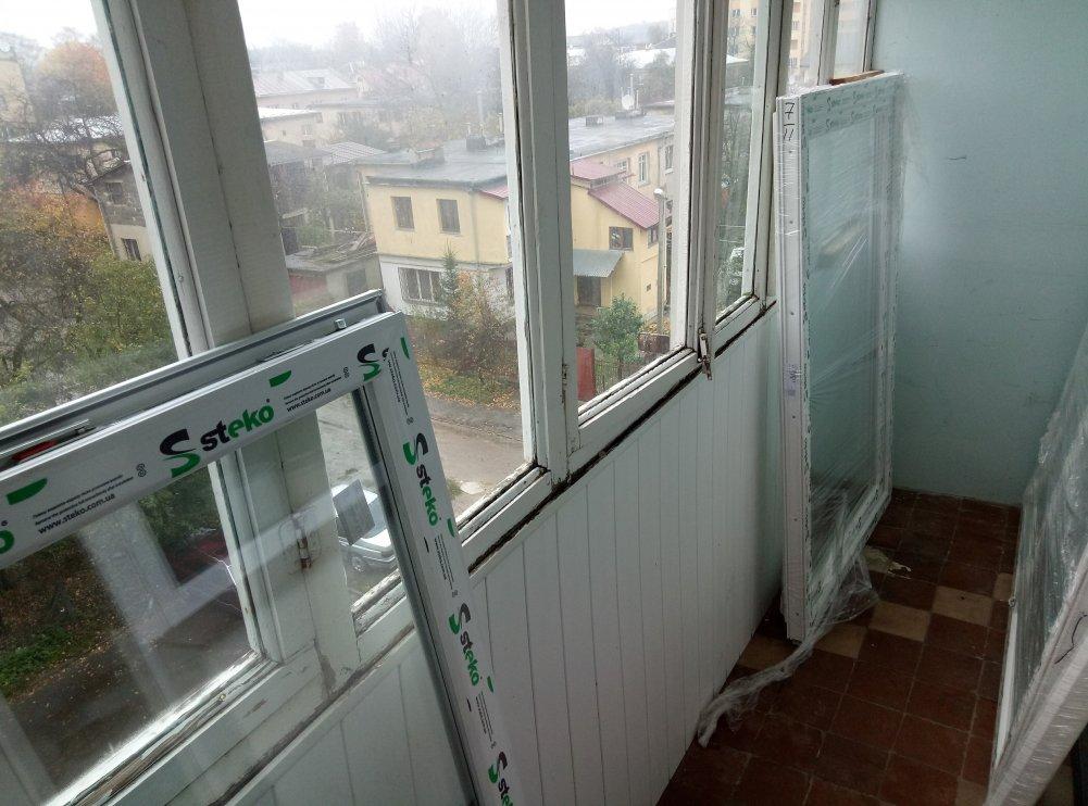 картинка замена окон на балконе