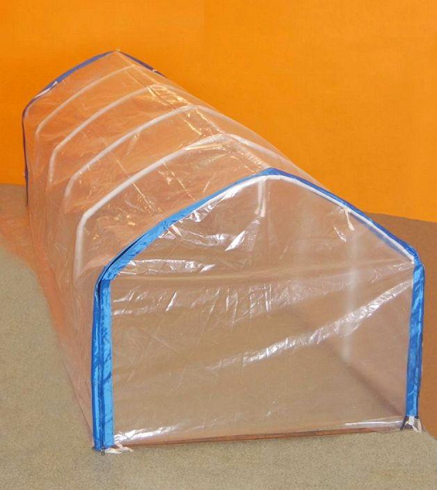 картинка теплица из пластиковых труб