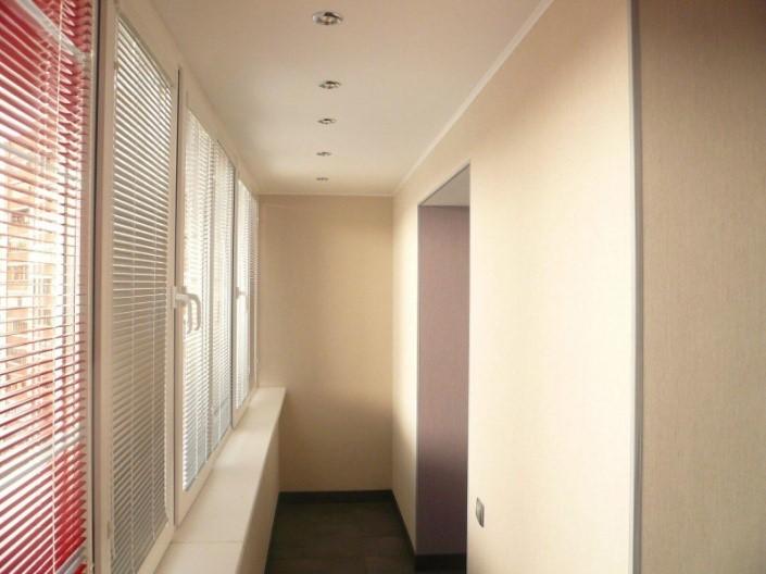 картинка отделка балкона гипсокартоном