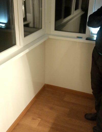 фото балкон под ключ в Макеевке пр Данилова работа Окна Проф 004